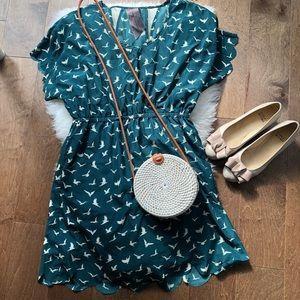 🚨2/$20🚨Cute green dress